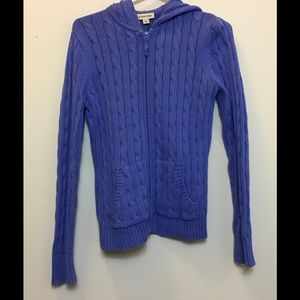 St. John's Bay Women's Zip Sweater Hoodie
